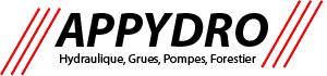 APPYDRO -  Grues sur camion Effer - Hydraulique - Grues forestieres - Reparation pompes à eau