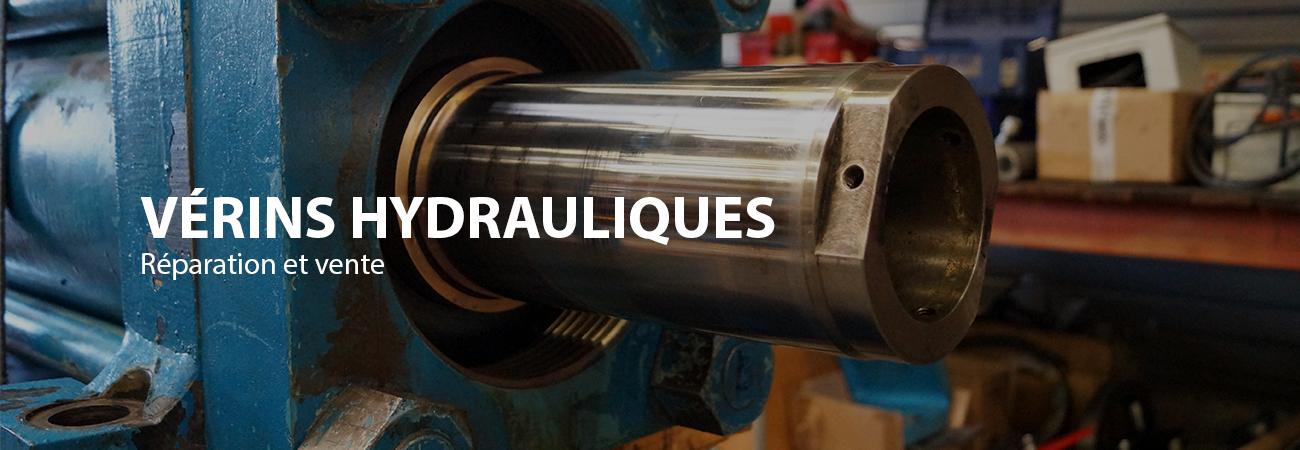 réparation vérin hydraulique
