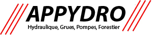 APPYDRO - Grues sur camion - Hydraulique - Grues forestieres - Reparation pompes à eau